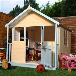 Playhouses Mad Dash Barley Sugar 6' x 5'