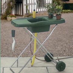 Mobile Garden Sink