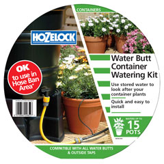 Hozelock Water Butt Container Watering Kit