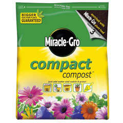 Miracle Gro Compact Compost 3ltr