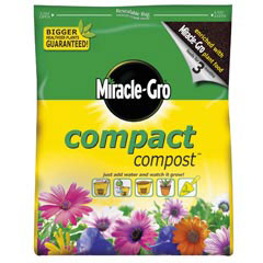 Miracle Gro Compact Compost 9Ltr