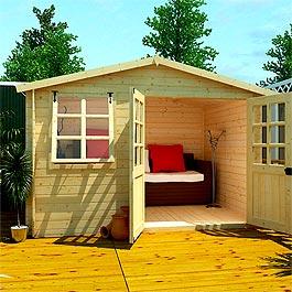BillyOh Log Cabin - Billyoh Pathfinder Sportsman 3.24m x 2.61m