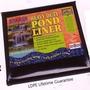 Pond Liner 3M X 2.5M