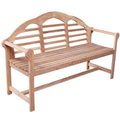 White Oak Lutyens Bench