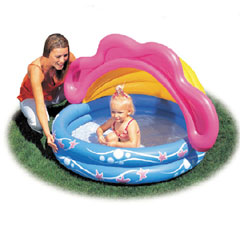 Sunshade Baby Pool