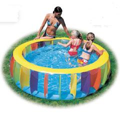 Multi-Coloured Pool