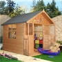 Playhouse Mad Dash Lollipop Inc Veranda 6' x 5'