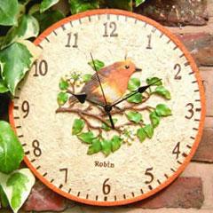 Robin Dial Clock