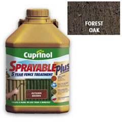 Cuprinol Sprayable Plus Forest Oak 5L