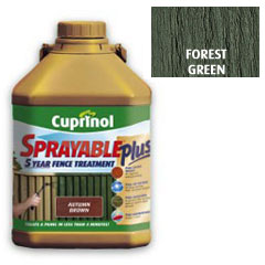 Cuprinol Sprayable Plus Forest Green 5L