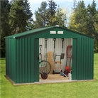 BillyOh Metal Sheds - Clifton 10' x 10' Apex Metal Shed