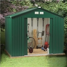 BillyOh Premium Metal Shed - 8'x6' Beeston