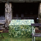 Camouflage Bench Cover