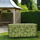 Camouflage Large Oval Patio Set Cover