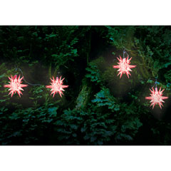 Solar Powered Star Lights 4 Pack