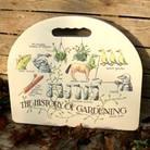 History of Gardening Kneeler