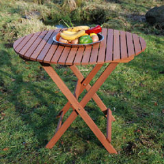 Monterrey Round Folding Table