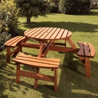 Richmond Medium Round Picnic Bench