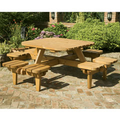 Somerset Whopper Square Picnic Table