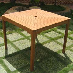 Santa Monica FSC Square Garden Table