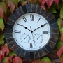Slate Effect Clock