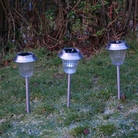 Warwick Stainless Steel Solar Light 10 Pack