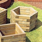 FSC Elite Hexagonal Planter Large
