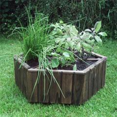 FSC Wooden Herb Wheel