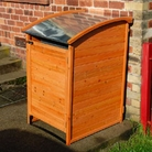 Galvanised Wheelie Bin Tidy