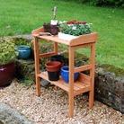 FSC Fir Potting Table