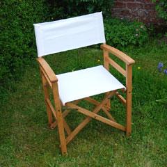 White Oak Director's Chair