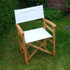 White Oak Director's Chair