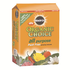 Miracle-Gro Organic Choice All Purpose Peat Free Compost 8 Litre
