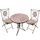 Aged Ceramic Patio Set