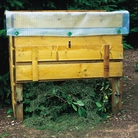 Timber Raised Composter