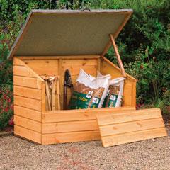Timber Garden Storage Box