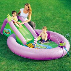 Gazillion Bubble Sprinkler Play Pool