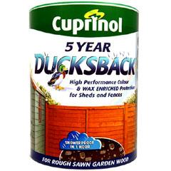 Cuprinol Ducksback Waterproofer Rich Cedar 5 Litres