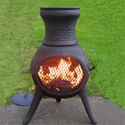 Compact Cast Iron Chiminea