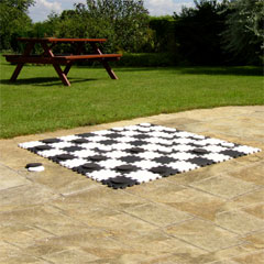 Chess and Draughts Garden Game