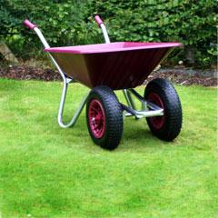 County Clipper Twin Wheeled Wheelbarrow 90 Litre