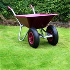 County Clipper Twin Wheeled Wheelbarrow 90 Litre