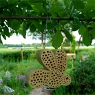 Bee Shaped Bee House
