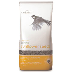 Chapelwood Bird Food - Black Sunflower 0.75kg