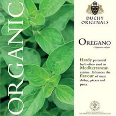 Oregano - Duchy Originals Organic Seeds