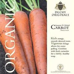 Carrot Jeanette F1 - Duchy Originals Organic Seeds