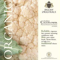 Cauliflower Goodman - Duchy Originals Organic Seeds