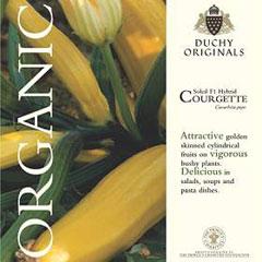 Courgette Soleil F1 - Duchy Originals Organic Seeds