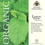 Lemon Balm - Duchy Originals Organic Seeds
