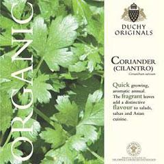 Coriander - Duchy Originals Organic Seeds